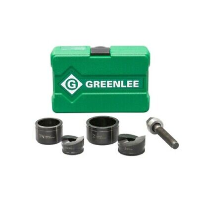 Greenlee 7237bb 1-12-2 Conduit Size Manual Slug-buster Knockout Punch Kit