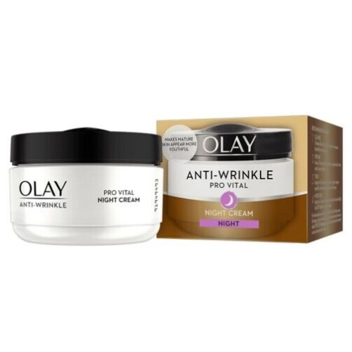 Olay Anti-Wrinkle Pro Vital Night Cream 50ml. RRP £12.49