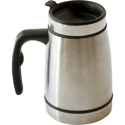 Stainless Steel Coffee Press Travel Mug