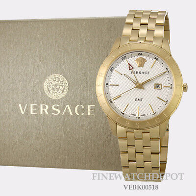 Authentic Versace Mens Univers Stainless Steel Watch VEBK00518