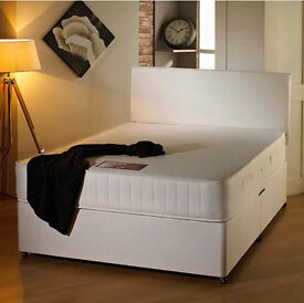 SUPER SALE- BRAND NEW DOUBLE DIVAN BED WITH 11 INCH ROYAL ORTHOPEDIC MATTRESS - SINGLE/KINGSIZE AVAI
