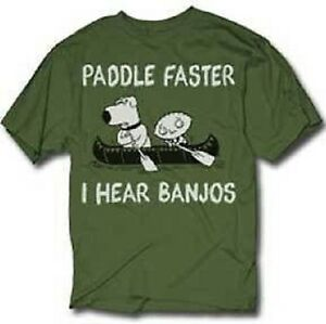 authentic family guy i hear banjos paddle faster stewie