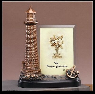 Lighthouse Frame Great Detail Beautiful Bronze Statue / Sculpture Brand New