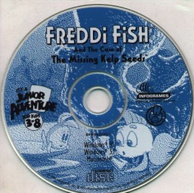 Freddi Fish and The Case of the Missing Kelp Seeds   NEW   Humongous