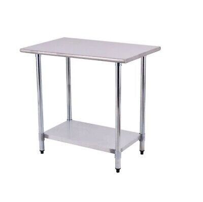 24 X 36 Stainless Steel Work Prep Table Commercial Kitchen Restaurant New 100