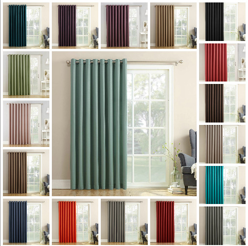 Extra Wide Window Curtain Panel 100 X84
