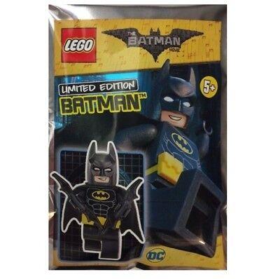 LEGO BATMAN LIMITED EDITION FOIL POLYBAG MINIFIGURE BATMAN 211701 BUILDING TOY