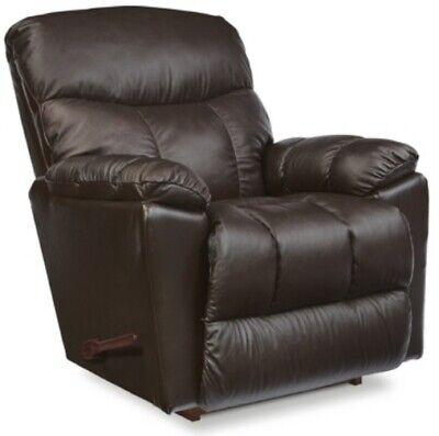 Brown Leather La-Z-Boy Rocker Recliner Chair Chairs Espresso Lazyboy Recliners