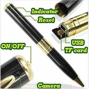 Mini caméra cachée stylo DVR pen recording hidden camera