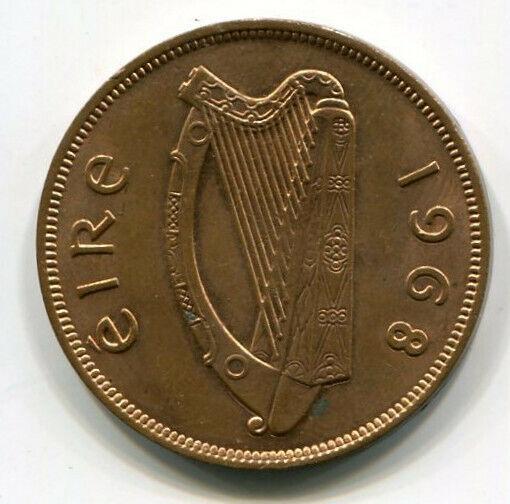 Ireland (Eire) One Penny 1968