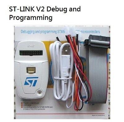 St-link V2 Jtag Usb Programming Stm8 Stm32 Debug Programmer Downloader Tools