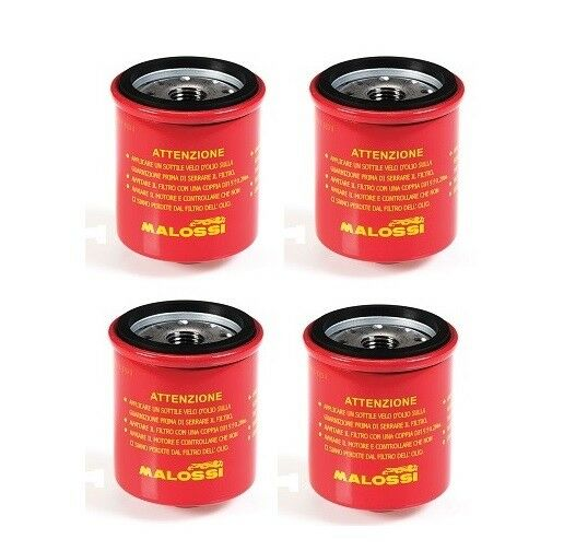 malossi oil filters for honda silverwing and forza 4 pack