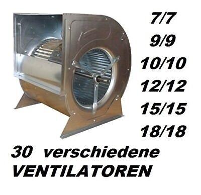 7/7  Lüfter Gebläse Ventilator Kupplungsantrieb, Riemenantrieb Dunstabzugshaube
