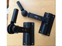 Proel Heavy Duty PA Speaker Wall Bracket with Vertical and Horizontal adjustment