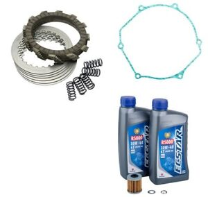 Suzuki RMZ450 2005-2007 Tusk Clutch Kit, Springs, Cover Gasket & Oil Change Kit