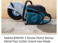 Makita petrol disc cutter, perfect condition