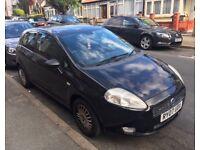 Fiat Grande Punto 1.2L - Black - 3dr - (12 Months MOT) - S.LONDON