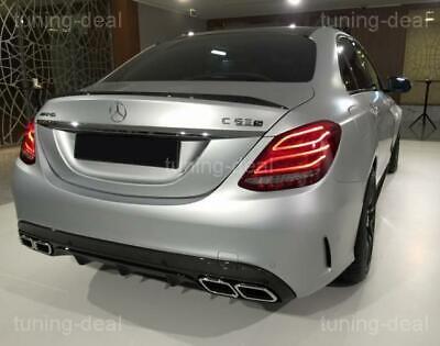 Spoiler passend für Mercedes-Benz C-Klasse W205 Limousine Heckspoilerlippe