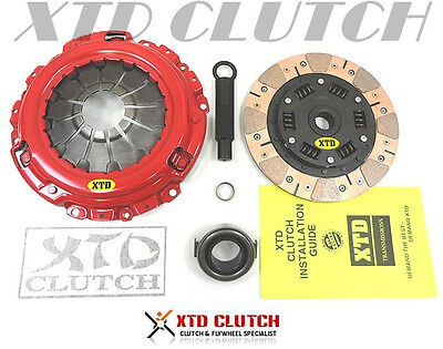 XTD STAGE 3 DUAL FRICTION CLUTCH KIT RSX TYPE-S CIVIC Si 2.0L K20 6 SPEED 4CYL - Dual Friction Clutch Kit