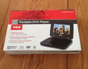 "7"" RCA PORTABLE DVD PLAYER -BRAND NEW IN BOX!"