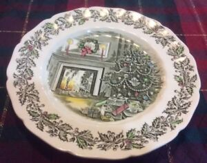 Johnson Brothers MERRY CHRISTMAS Vintage 47 + 5 Pcs Dishes