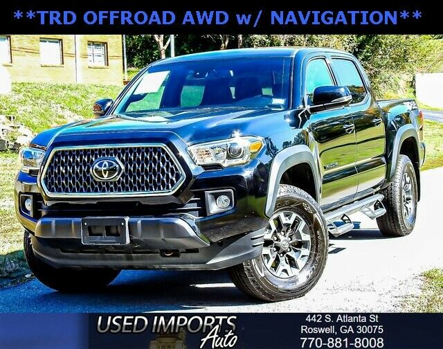 Image 1 Voiture American used Toyota Tacoma 2018