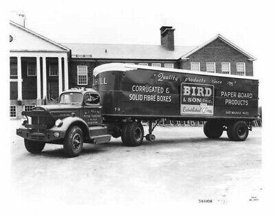 1954 White Truck Press Photo 0033 - WJ Hill Motor Transport - Bird & Son - Truck Press