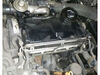 VW Golf 1.9 TDI Engine Breaking For Parts (2002)