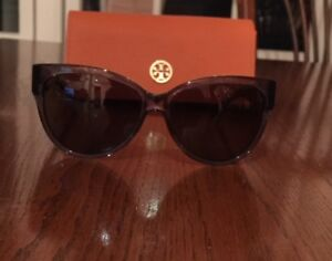 Tory Burch Blue Cat Eye Sunglasses