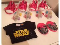 Stockbridge, Edinburgh - Build-A-Bear Workshop Lot 4xSkates 4xShoes Star Wars Shirt Slippers Lead
