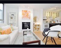 1850 Gorgeous yaletown 500square feet 1 bedroom!