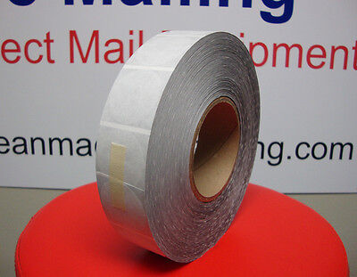 """Tabs Wafer Seals Roll of 4,000 Tabs 1.5"""" for table top Tabber 1 1/2"""" Mailing Tab"""