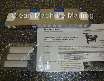 Pitney Bowes F790023 Moistener Kit For Di900 Di950 Fastpac Inserter F780089