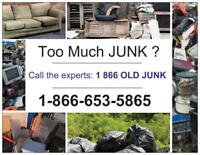 When it's time to call the junk removal guy...