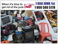 Same great low rates on junk removal services