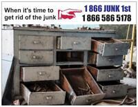 Cheap junk removal, you save money!