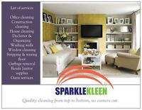Back to School with Sparkle Kleen