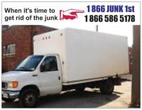 Any time simple cheap junk removal
