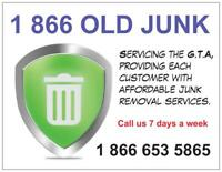 We remove the junk, garbage and waste 1877 695 2336.