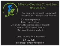 Brilliance Cleaning Co and Lawn Maintenance