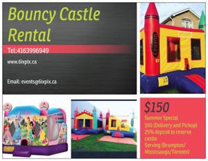 Bouncy Castle Rental Spring Special $150