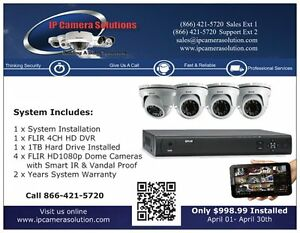 Security Camera & Alarm Installations Stratford Kitchener Area image 1