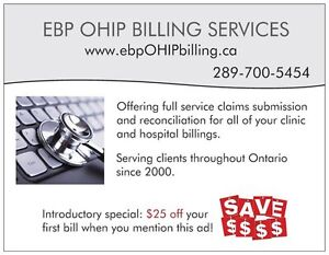 Physician & Group OHIP Billing Service London Ontario image 1