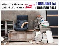 Cheap junk removal, you save money!