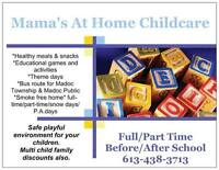 Home Child Care in Madoc.