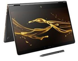 HP Spectre X360 15-bl000na, Intel i7-7500U, 8Gb RAM, 512Gb SSD, 15.6 4K Touchscreen ,Nvidia GT940MX