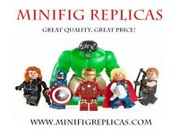Minifig Replicas! Hundreds of unique Minifigures available!
