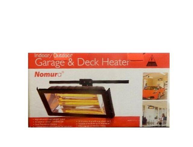 Nomura Indoor/Outdoor Garage Heater Deck Heater