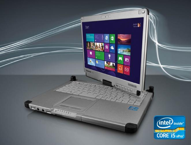 Panasonic ToughBook CF-C2CKEZXCM, i5-4300U@1.9GHz 4GB 128SSD, Dual CAM, Win 10