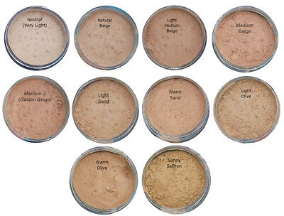 Bare Pure Magic Minerals Foundation Makeup Full Mineral Cover + FREE Samples